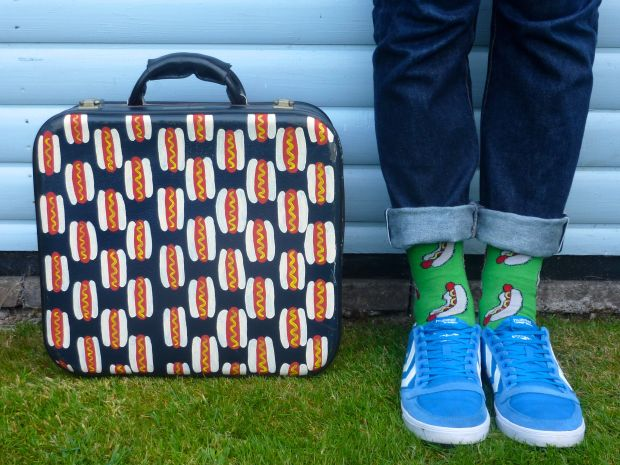 Hotdog suitcase