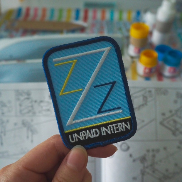 The Life Aquatic Team Zissou Unpaid Intern Patch, Wes Anderson