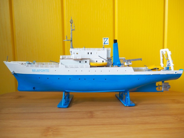 The Life Aquatic Team Zissou Belafonte Model Boat, Wes Anderson